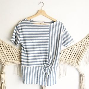 GAP Knotted Stripe Shirt